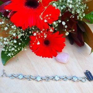 Swarovski Crystal Silver Bracelet